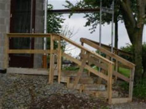 holzplatten für aussenbereich provisorische treppe zur haust 195 188 r f 195 188 r den au 195 ÿenbereich aus holz und pf 195 164 hle bauunternehmen