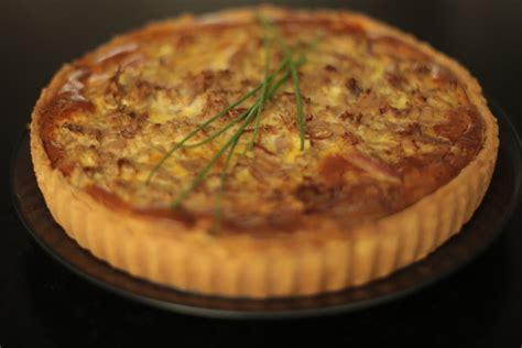 hervé cuisine chinois recette de la tarte au thon poivron et herbes par hervé