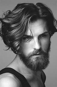 Men Hairstyles Long Straight Hair