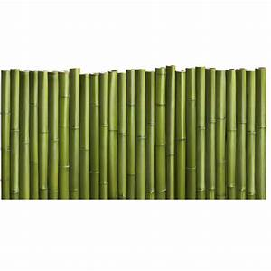 Tete De Lit Bambou : sticker t te de lit palissade de bambou en trompe l 39 oeil france avenue ~ Teatrodelosmanantiales.com Idées de Décoration