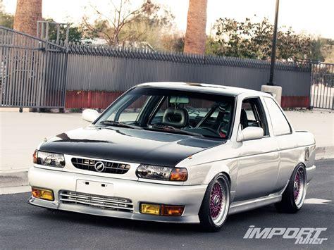 nissan sentra 1992 nissan sentra xe import tuner magazine