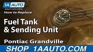 How To Replace Fuel Tank  U0026 Sending Unit 71