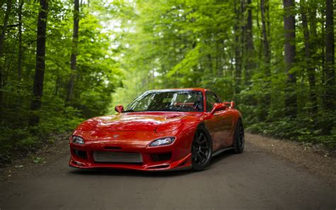 Rx 4k Wallpapers by Wallpapers 4k Mazda Rx 7 Tuning Road Rx 7