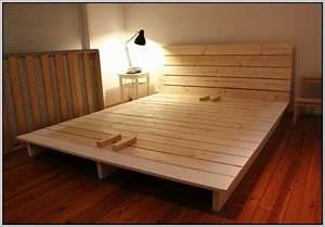 Bett Selber Bauen Einfach : die 25 besten ideen zu bett selber bauen auf pinterest bett selber bauen ideen palettenbett ~ Markanthonyermac.com Haus und Dekorationen