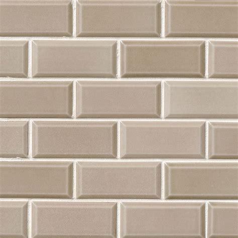ms international subway tile mosaic 2 x 4 taupe