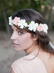 Couronne Fleur Cheveux Mariage : couronne fleurs mariage ~ Melissatoandfro.com Idées de Décoration
