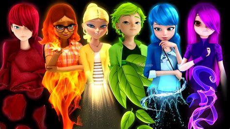 Edit All Characters As Rainbow! Mari, Aly, Chloe