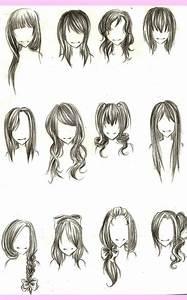 Chibi hairstyles | Chibi/Anime | Pinterest | Hairstyles ...