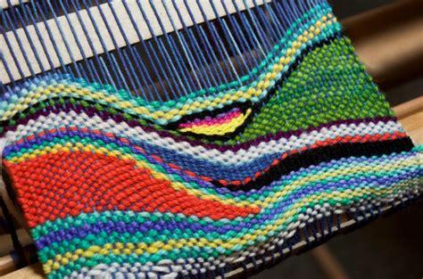 tapestry style weaving   rigid heddle loom