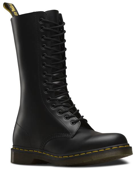 dr martens unisex  smooth leather mid calf  eye  boots ebay