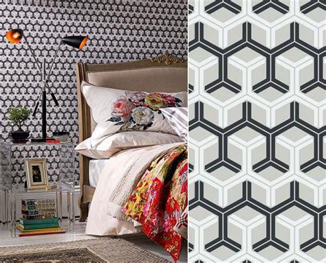 papier peint noir et gris papiers peints de marques inspiration d 233 coration murale au fil des couleurs papiers