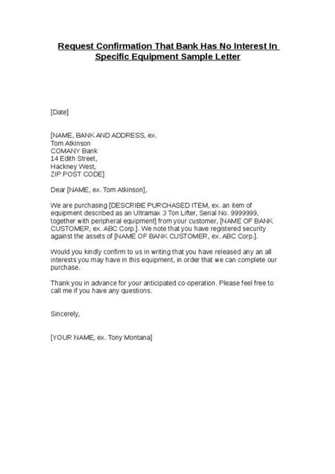 bank letter  confirmation bank letter  confirmation