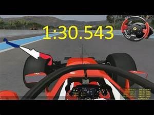 Circuit Paul Ricard F1 : rfactor f1 2018 halo france paul ricard 2018 circuit and crazy hot lap thrustmaster t150 wheel ~ Medecine-chirurgie-esthetiques.com Avis de Voitures