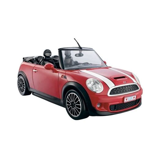 barbie red cars barbie and ken my cool mini cooper convertible red sports