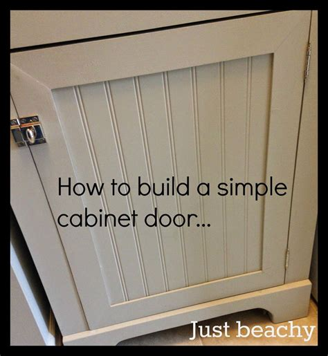 how to make kitchen cabinets doors diy tutorial how to build simple shaker style cabinet 8747