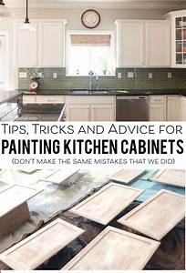Tips for painting kitchen cabinets the polka dot chair for What kind of paint to use on kitchen cabinets for faith hope love wall art