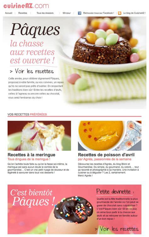 newsletter cuisine galerie de newsletters sur le thème quot quot the mailing book