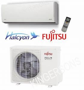 18000 Btu Ductless Mini Split Air Conditioner Seer 19 Fujitsu Cool  U0026 Heat