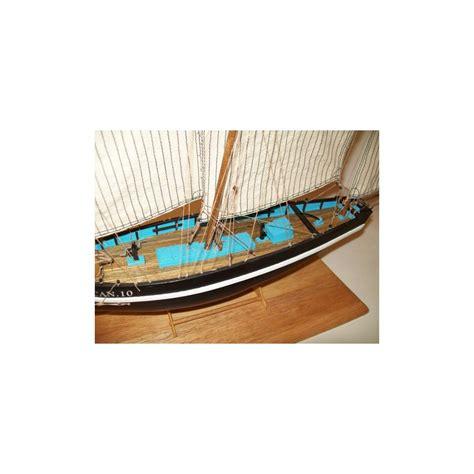 bisquine le petrel maquette bateau bois 224 monter soclaine