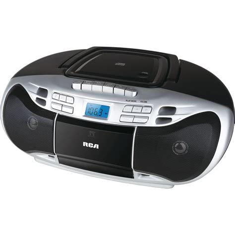Cassette Player Boombox rca cd boombox w cassette player tvs electronics