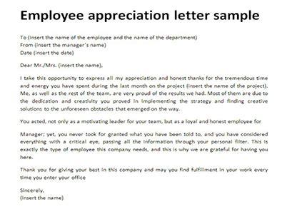 appreciation letter  staff scrumps