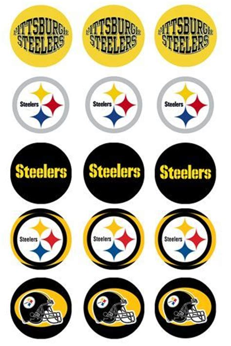 pittsburgh steelers printables images  pinterest