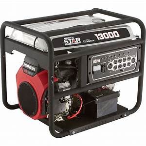 Northstar Portable Generator  U2014 13 000 Surge Watts  10 500 Rated Watts  Electric Start  Carb