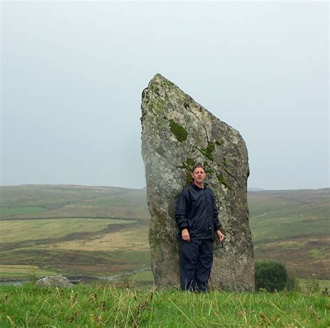 Standing Stones & Megaliths: Llech Idris Standing Stone