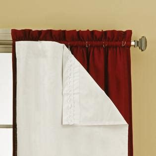 Sears Blackout Curtain Liners by Eclipse Curtains Thermal Blackout Liner