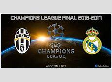 Juventus Vs Real Madrid Uefa Champions League Final