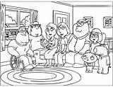 Coloring Guy Printable Familie Ausmalbilder Malvorlagen Chris Cartoon Families Zum Konabeun Ausdrucken Guys Popular Young Pj Masks sketch template