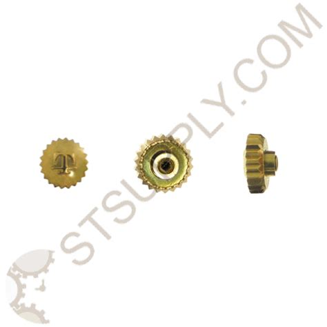 Tissot Style Yellow Crown Dustproof 50mm Tap 1011 St Supply