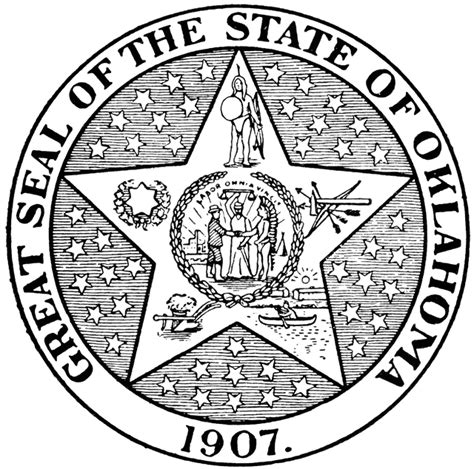 Image result for oklahoma state seal\
