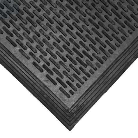 Black Rubber Doormat by Rubber Cal Dura Scraper Linear 60 In X 36 In Black