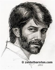 How to draw To bearded man