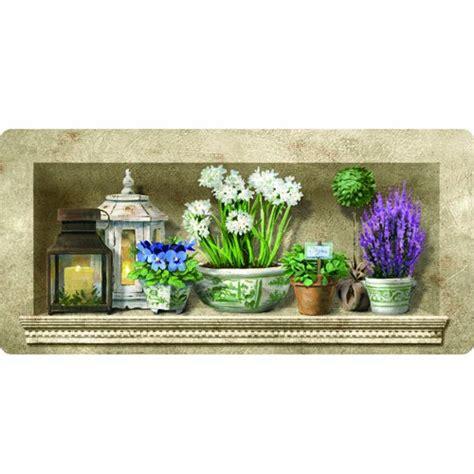 kitchen comfort mat apache mills 60 122 1376 20x42 cushion comfortherb floral