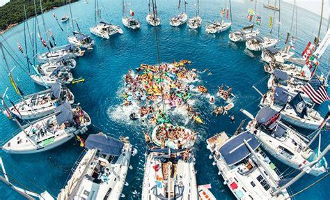 beginners guide  yacht week croatia