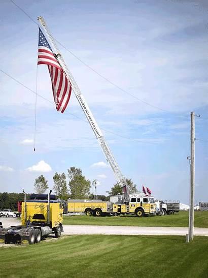 Trump York Fire Sign Yard Truck Signs