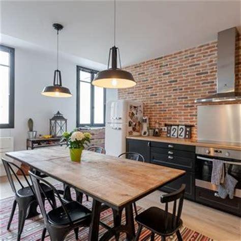 cuisine style industriel cuisine moderne aménagement et idée déco domozoom