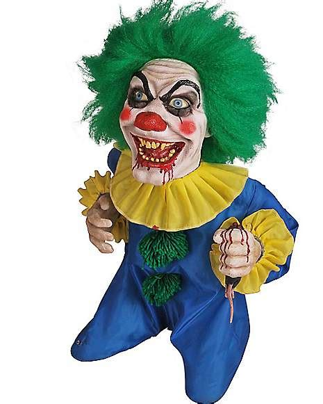 animated bite sized clown prop spirithalloweencom