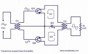 Class B Power Amplifier Circuit Diagram World