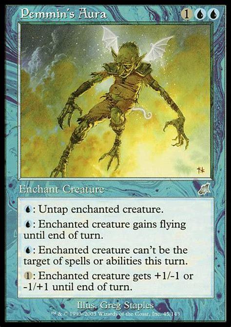 mtg enchantment creature deck pemmin s aura scg mtg card