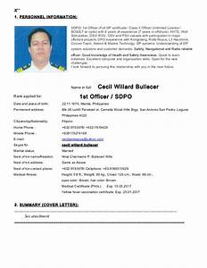 Sdpo Cecil Bullecer Cv Sept 2015