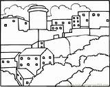 Neighborhood Coloring Pages Printable Others Coloringpages101 sketch template