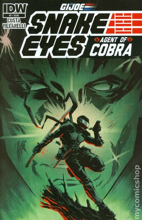 gi joe snake eyes agent  cobra  idw comic books