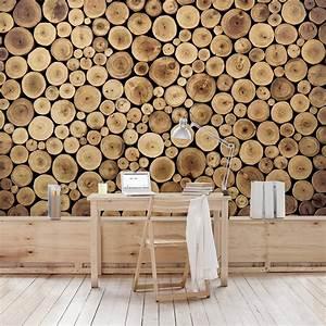 Fototapete Auf Raufaser : selbstklebende tapete fototapete holz homey firewood kaufen bei bilderwelten ~ Markanthonyermac.com Haus und Dekorationen