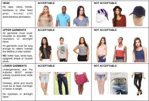 a dress code is acceptable to keep students from dressing