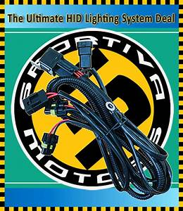 Top Quality Drl Relay Wiring Harness For H11 H7 H1 9006 9005 9012 Hid Xenon Kit