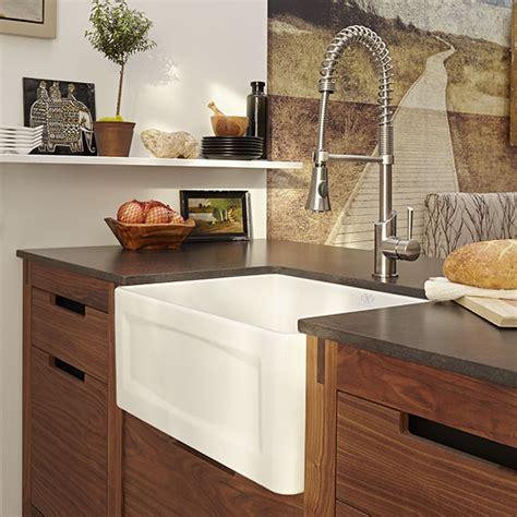 Kitchen Farm Sink  Hillside 24 Inch Wide Apron Kitchen
