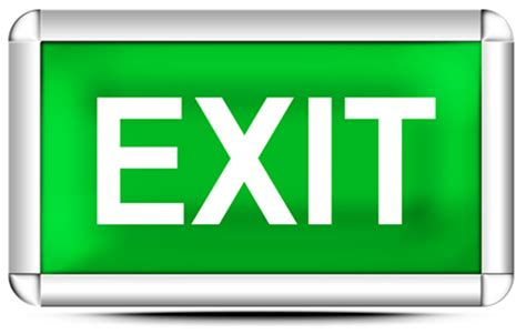 exit sign button   icons  png backgrounds